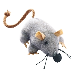 Cuddly mouse toy for cats