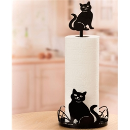 Arabesque cat paper dispenser