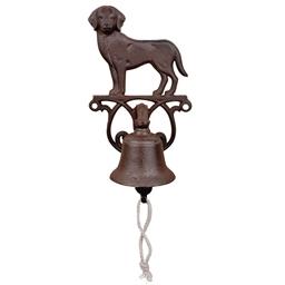 Dog garden bell