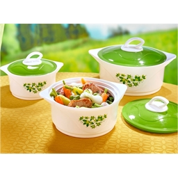 3 Springtime insulated dishes