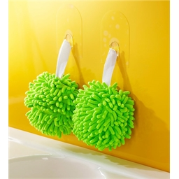 Chenille hand drying balls Per unit