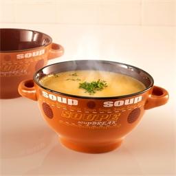 2 bols soupe en grès
