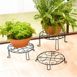 3 supports plantes arabesque