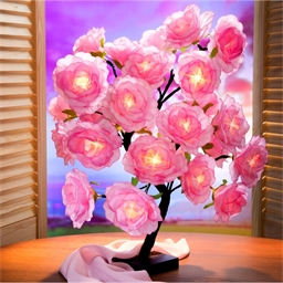 Ledlamp rozenstruik