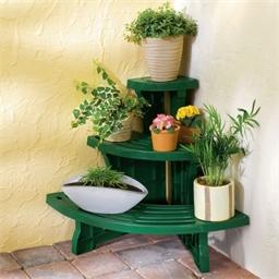 Tiered Plant Corner Stand