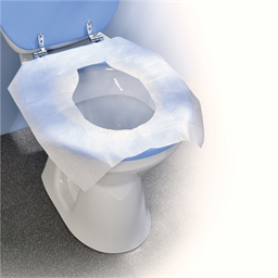 Lot de 10 protections pour siège WC