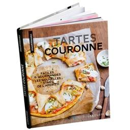 Livre de cuisine tartes couronne