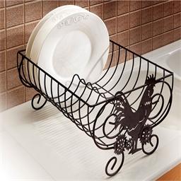 Porte-vaisselle coq