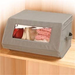 Storage case with window