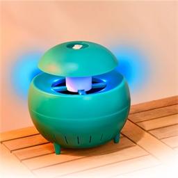 Lampe aspirante moustiques verte