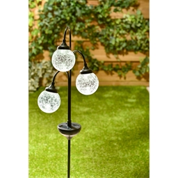 3 globes solaires
