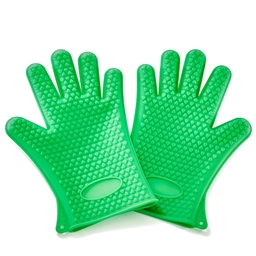Pack of 2 silicone gloves