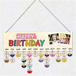 Te personaliseren verjaardagskalender