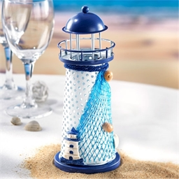 Blue LED lighthouse