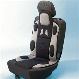Back-supporting seat cover
