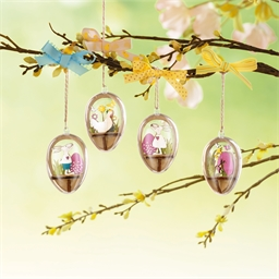 Set of 4 eggs to decorate
