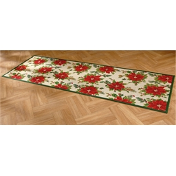 Poinsettia mat : 2 sizes available