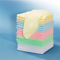 Pack of 20 microfibre cloths
