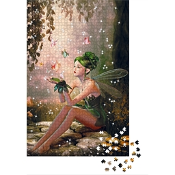 Swarovski crystal puzzle Fairy