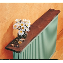 Tablette radiateur bois 50 cm