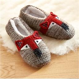 Fox slippers
