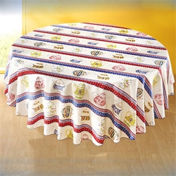 Nappe collection théières - ronde ou rectangulaire