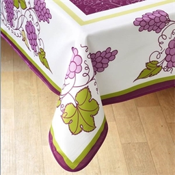 Grape bunch tablecloth Rectangular