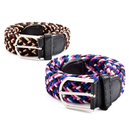 Set of 2 elasticated belts