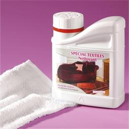 Nettoyant spécial textiles