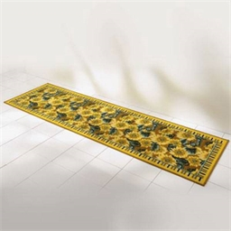 Sunflower rug 57x180