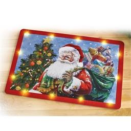 LED-Türmatte Weihnachten