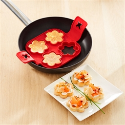 Flower blini mould