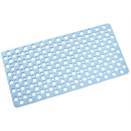 Blue massage mat Bathtub