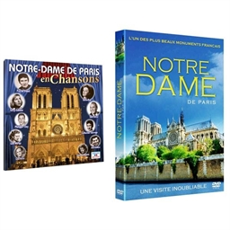 Lot Notre-Dame de Paris : CD + DVD
