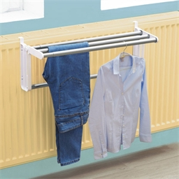 Space saving clothes dryer