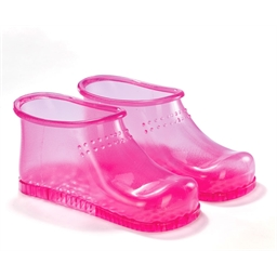 Rosa Fußbad