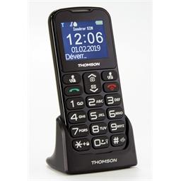 Téléphone portable Thomson noir