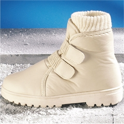 """Thermo"" boots Off-white - size 3"