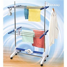 Blower drying rack