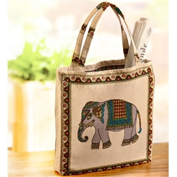 Elephant canvas bag