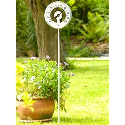 Outdoor dial thermometer