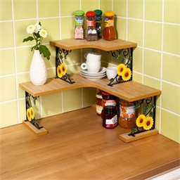 Sunflower shelves
