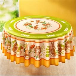 """Tischdecke """"Hasenbande"""" : rechteckig oder rund"""