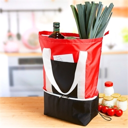 Shopping bag with isothermal base