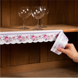 Shelf edging Gingham