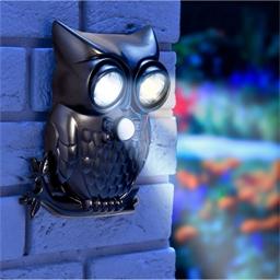 Hibou détecteur LED
