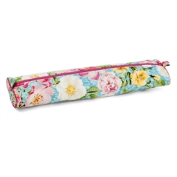 Roses in bloom knitting needle case