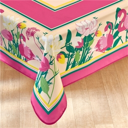 Flamingo tablecloth: Rectangular or Circular