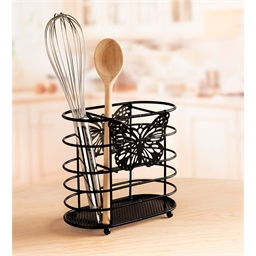 Butterfly utensil holder