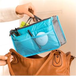 Handtaschen-Organizer blau